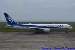れんしさんが、山口宇部空港で撮影した全日空 767-381/ERの航空フォト(飛行機 写真・画像)