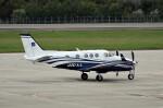 Dojalanaさんが、函館空港で撮影したアジア航測 C90GTi King Airの航空フォト(飛行機 写真・画像)