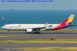 アシアナ航空 Airbus A330-300 (HL7747)  航空フォト | by Chofu Spotter Ariaさん  撮影2007年11月04日%s