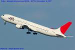 Chofu Spotter Ariaさんが、羽田空港で撮影した日本航空 767-346の航空フォト(飛行機 写真・画像)