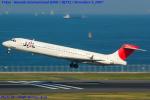 Chofu Spotter Ariaさんが、羽田空港で撮影した日本航空 MD-87 (DC-9-87)の航空フォト(飛行機 写真・画像)