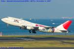 Chofu Spotter Ariaさんが、羽田空港で撮影した日本航空 747-446Dの航空フォト(飛行機 写真・画像)