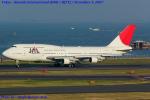Chofu Spotter Ariaさんが、羽田空港で撮影した日本航空 747-346SRの航空フォト(飛行機 写真・画像)