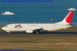 Chofu Spotter Ariaさんが、羽田空港で撮影したJALエクスプレス 737-446の航空フォト(飛行機 写真・画像)