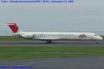 Chofu Spotter Ariaさんが、羽田空港で撮影した日本航空 MD-81 (DC-9-81)の航空フォト(飛行機 写真・画像)