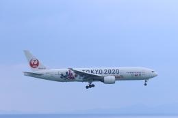 さんたまるたさんが、那覇空港で撮影した日本航空 777-246の航空フォト(飛行機 写真・画像)