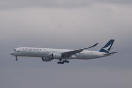 nontan8さんが、成田国際空港で撮影したキャセイパシフィック航空 A350-1041の航空フォト(飛行機 写真・画像)