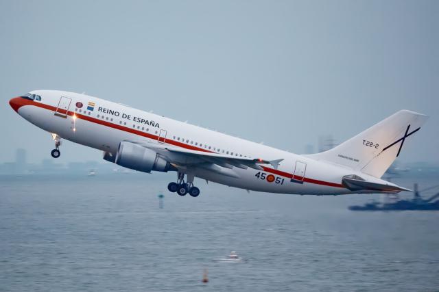 KoshiTomoさんが、羽田空港で撮影したスペイン空軍 A310-304の航空フォト(飛行機 写真・画像)