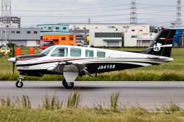 A.Tさんが、八尾空港で撮影したタンゴ・エア・サポート A36 Bonanza 36の航空フォト(飛行機 写真・画像)