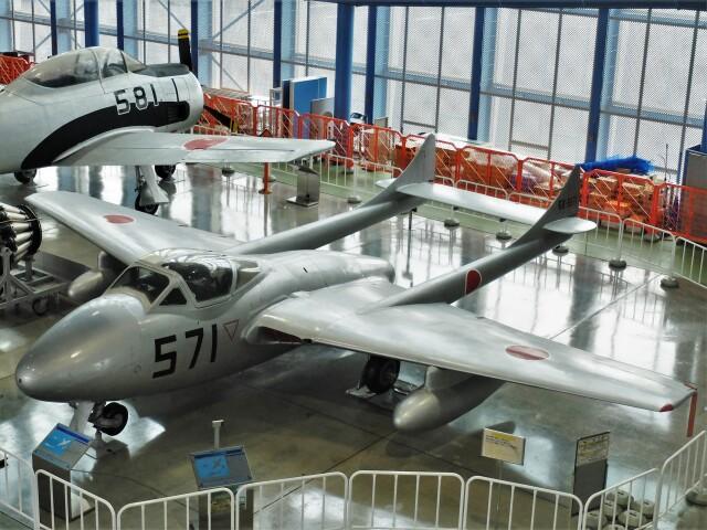Smyth Newmanさんが、浜松広報館で撮影した航空自衛隊 DH.115 Vampire T55の航空フォト(飛行機 写真・画像)