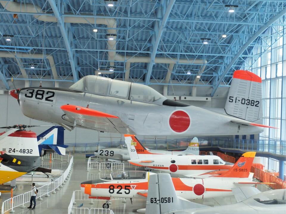 Smyth Newmanさんの航空自衛隊 Fuji T-34 (51-0382) 航空フォト