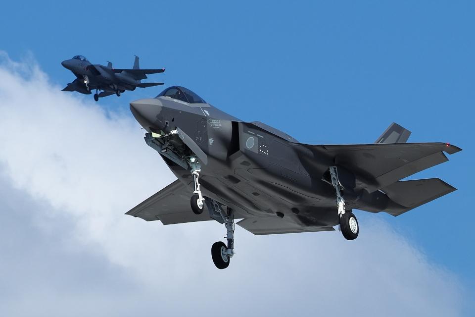 あずち88さんの航空自衛隊 Lockheed Martin F-35 Lightning II (mitsubishi F-35) 航空フォト
