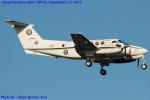 Chofu Spotter Ariaさんが、厚木飛行場で撮影したアメリカ海軍 UC-12F Super King Air (B200C)の航空フォト(飛行機 写真・画像)