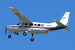 yabyanさんが、名古屋飛行場で撮影した朝日航空 208 Caravan Iの航空フォト(飛行機 写真・画像)