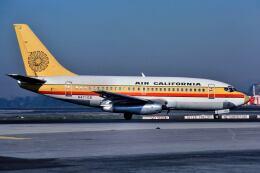 パール大山さんが、ロサンゼルス国際空港で撮影したエアカル 737-159の航空フォト(飛行機 写真・画像)