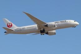 航空フォト:JA845J 日本航空 787-8 Dreamliner