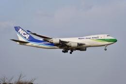 flying_horseさんが、成田国際空港で撮影した日本貨物航空 747-4KZF/SCDの航空フォト(飛行機 写真・画像)