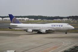 flying_horseさんが、成田国際空港で撮影したユナイテッド航空 747-422の航空フォト(飛行機 写真・画像)