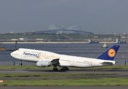 mahiちゃんさんが、羽田空港で撮影したルフトハンザドイツ航空 747-830の航空フォト(飛行機 写真・画像)