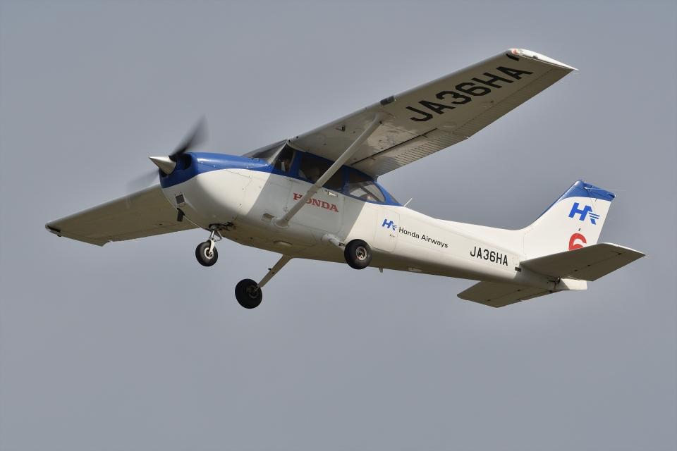 qooさんの本田航空 Cessna 172 (JA36HA) 航空フォト