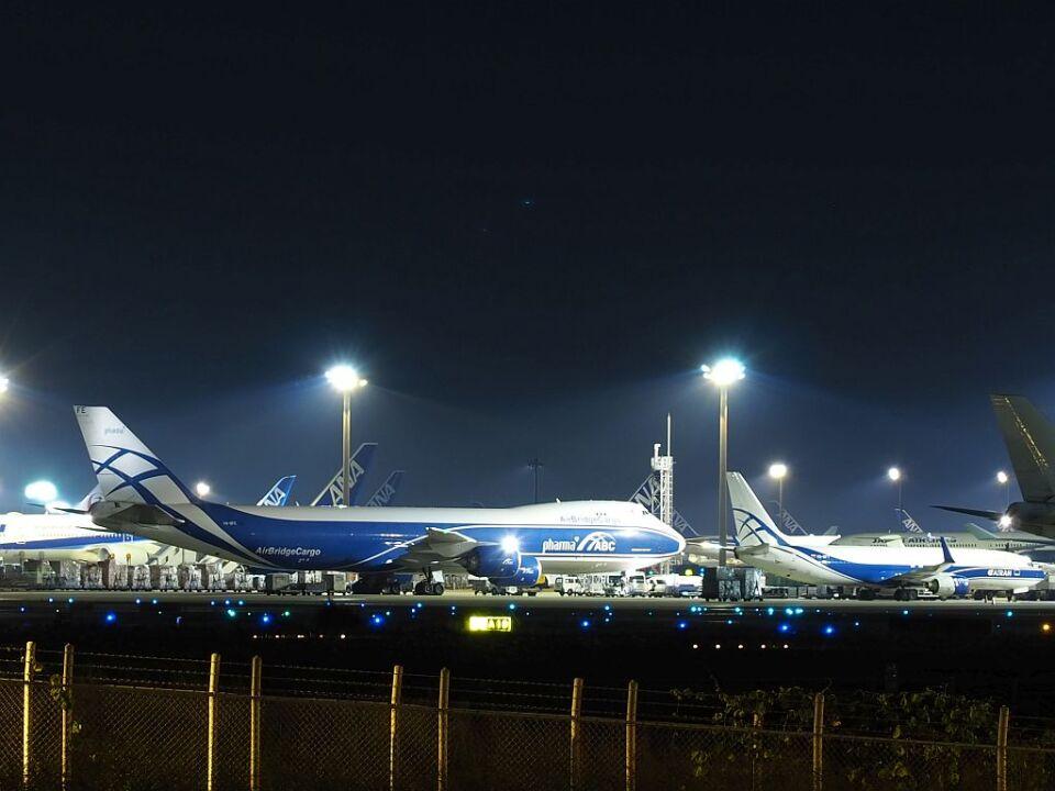 ladyinredさんのアトラン・アヴィアトランス・カーゴ・エアラインズ Boeing 737-800 (VQ-BFT) 航空フォト