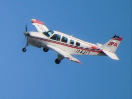tetuさんが、札幌飛行場で撮影したジェイピーエー A36 Bonanza 36の航空フォト(飛行機 写真・画像)