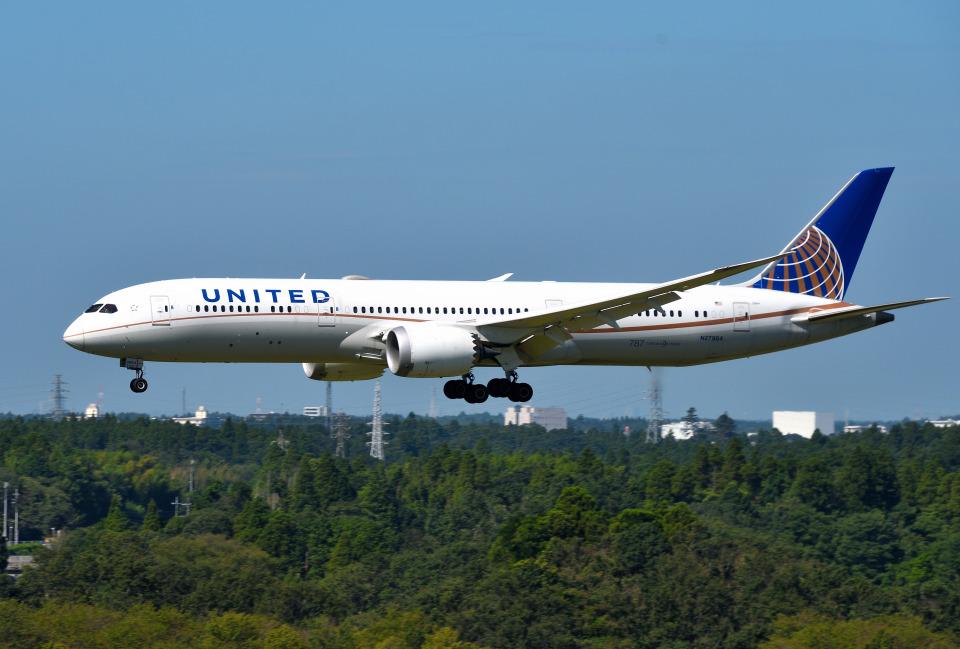 mojioさんのユナイテッド航空 Boeing 787-9 (N27964) 航空フォト
