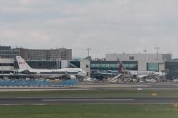 Hiro-hiroさんが、フランクフルト国際空港で撮影したタイ国際航空 747-4D7の航空フォト(飛行機 写真・画像)