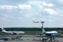 Hiro-hiroさんが、フランクフルト国際空港で撮影したトゥイフライ 737-800の航空フォト(飛行機 写真・画像)