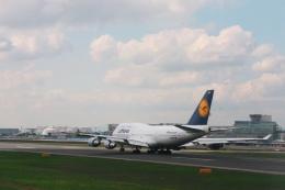 Hiro-hiroさんが、フランクフルト国際空港で撮影したルフトハンザドイツ航空 747-430の航空フォト(飛行機 写真・画像)