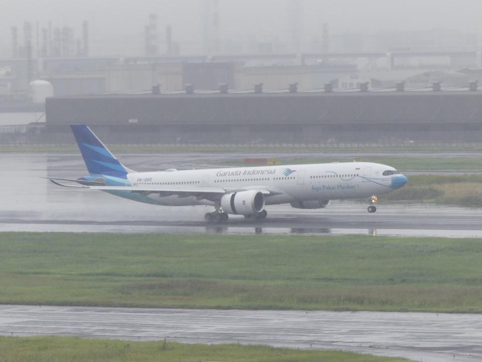蒲田っ子さんのガルーダ・インドネシア航空 Airbus A330-900 (PK-GHG) 航空フォト