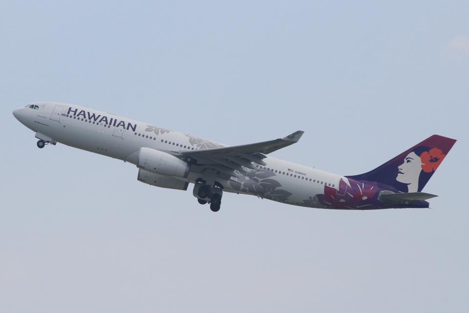 キイロイトリさんのハワイアン航空 Airbus A330-200 (N386HA) 航空フォト