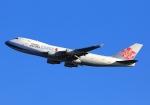 LOTUSさんが、関西国際空港で撮影したチャイナエアライン 747-409F/SCDの航空フォト(飛行機 写真・画像)