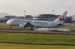 ぽんさんが、高松空港で撮影した日本航空 767-346/ERの航空フォト(飛行機 写真・画像)