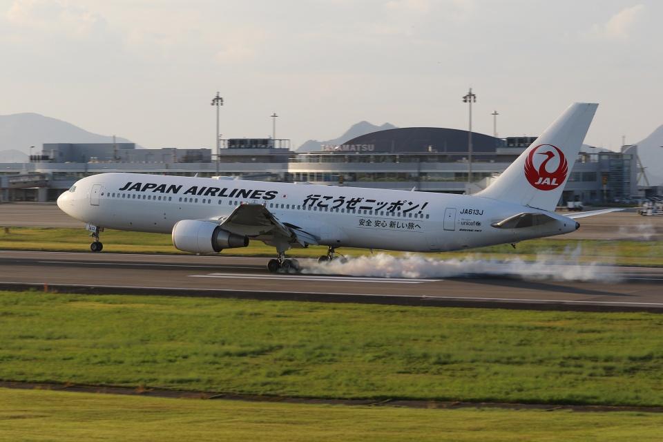 ぽんさんの日本航空 Boeing 767-300 (JA613J) 航空フォト