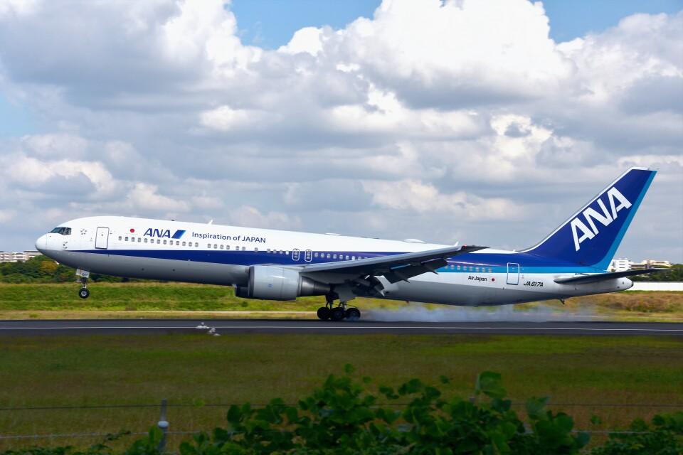 T.Sazenさんの全日空 Boeing 767-300 (JA617A) 航空フォト