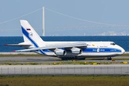 ROSENTHALさんが、関西国際空港で撮影したヴォルガ・ドニエプル航空 An-124-100 Ruslanの航空フォト(飛行機 写真・画像)