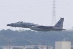 キイロイトリさんが、嘉手納飛行場で撮影したアメリカ空軍 F-15C-30-MC Eagleの航空フォト(飛行機 写真・画像)