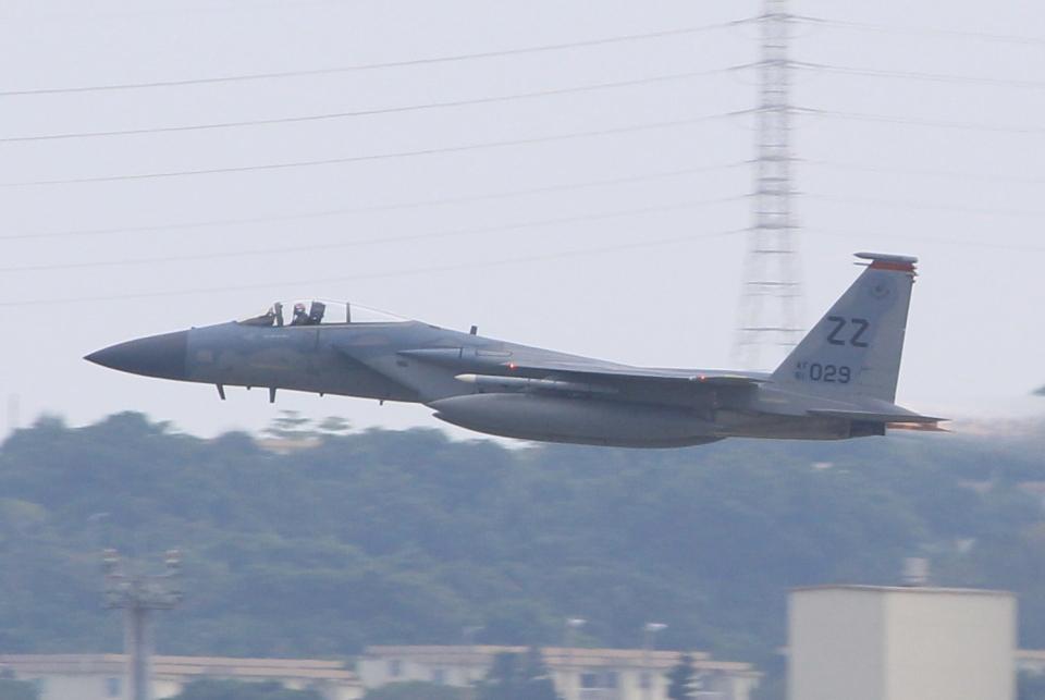 キイロイトリさんのアメリカ空軍 McDonnell Douglas F-15 A/B/C/D/E (81-0029) 航空フォト