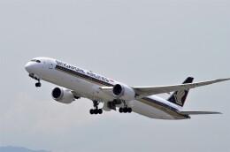 mild lifeさんが、関西国際空港で撮影したシンガポール航空 787-10の航空フォト(飛行機 写真・画像)