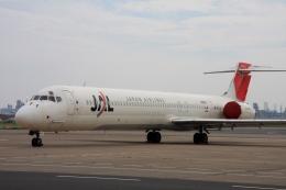 Hiro-hiroさんが、羽田空港で撮影した日本航空 MD-90-30の航空フォト(飛行機 写真・画像)