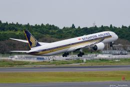 ぱん_くまさんが、成田国際空港で撮影したシンガポール航空 787-10の航空フォト(飛行機 写真・画像)