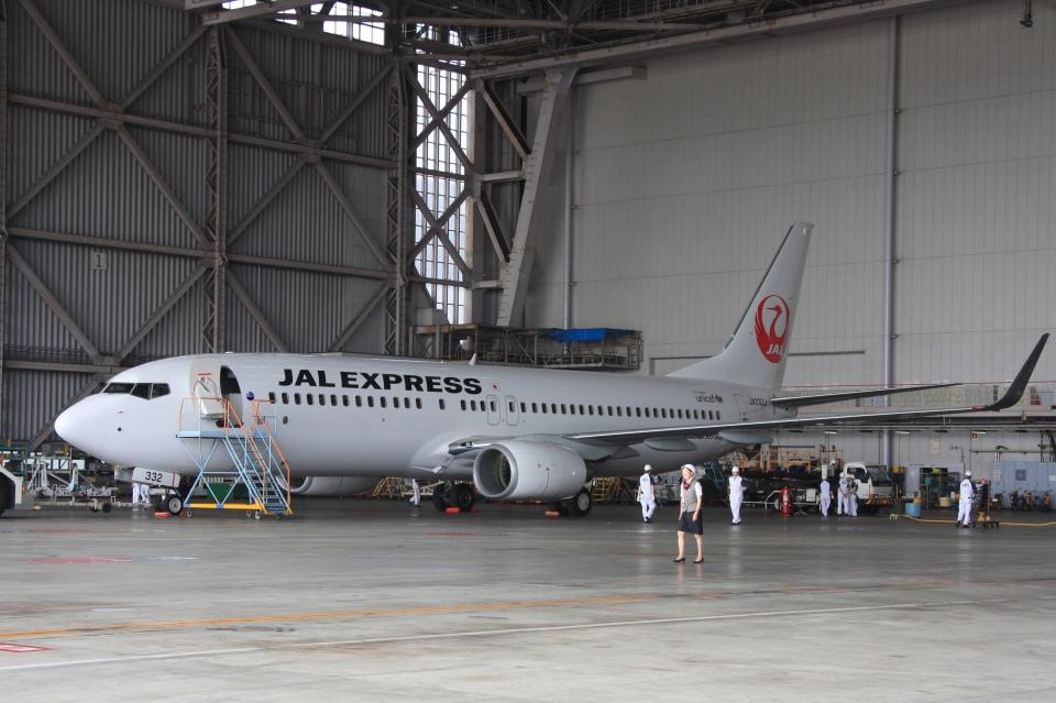 Hiro-hiroさんのJALエクスプレス Boeing 737-800 (JA332J) 航空フォト