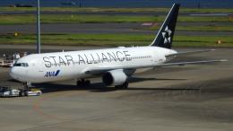 るかりおさんが、羽田空港で撮影した全日空 767-381/ERの航空フォト(飛行機 写真・画像)
