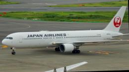 るかりおさんが、羽田空港で撮影した日本航空 767-346/ERの航空フォト(飛行機 写真・画像)