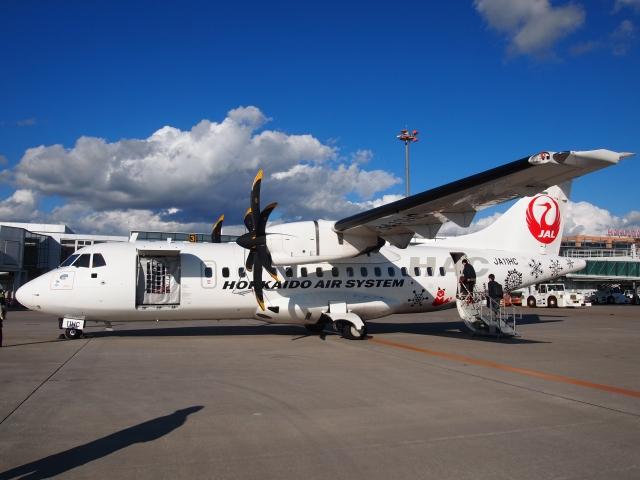 FT51ANさんが、函館空港で撮影した北海道エアシステム ATR-42-600の航空フォト(飛行機 写真・画像)