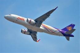 amagoさんが、スワンナプーム国際空港で撮影したタイ・スマイル A320-232の航空フォト(飛行機 写真・画像)