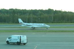 kahluamilkさんが、ヘルシンキ空港で撮影したフィンランド企業所有 560XL Citation Excel/XLS/XLS+の航空フォト(飛行機 写真・画像)