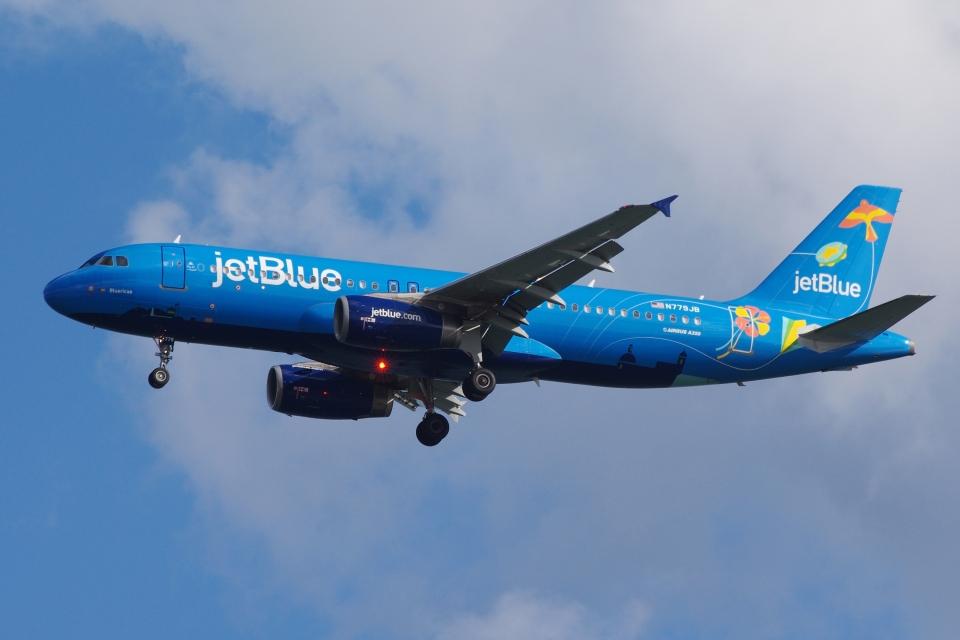 zettaishinさんのジェットブルー Airbus A320 (N779JB) 航空フォト