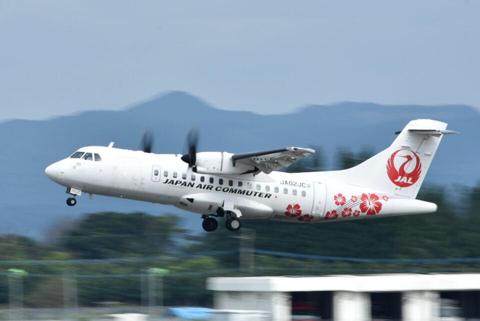 ワイエスさんの日本エアコミューター ATR 42 (JA02JC) 航空フォト